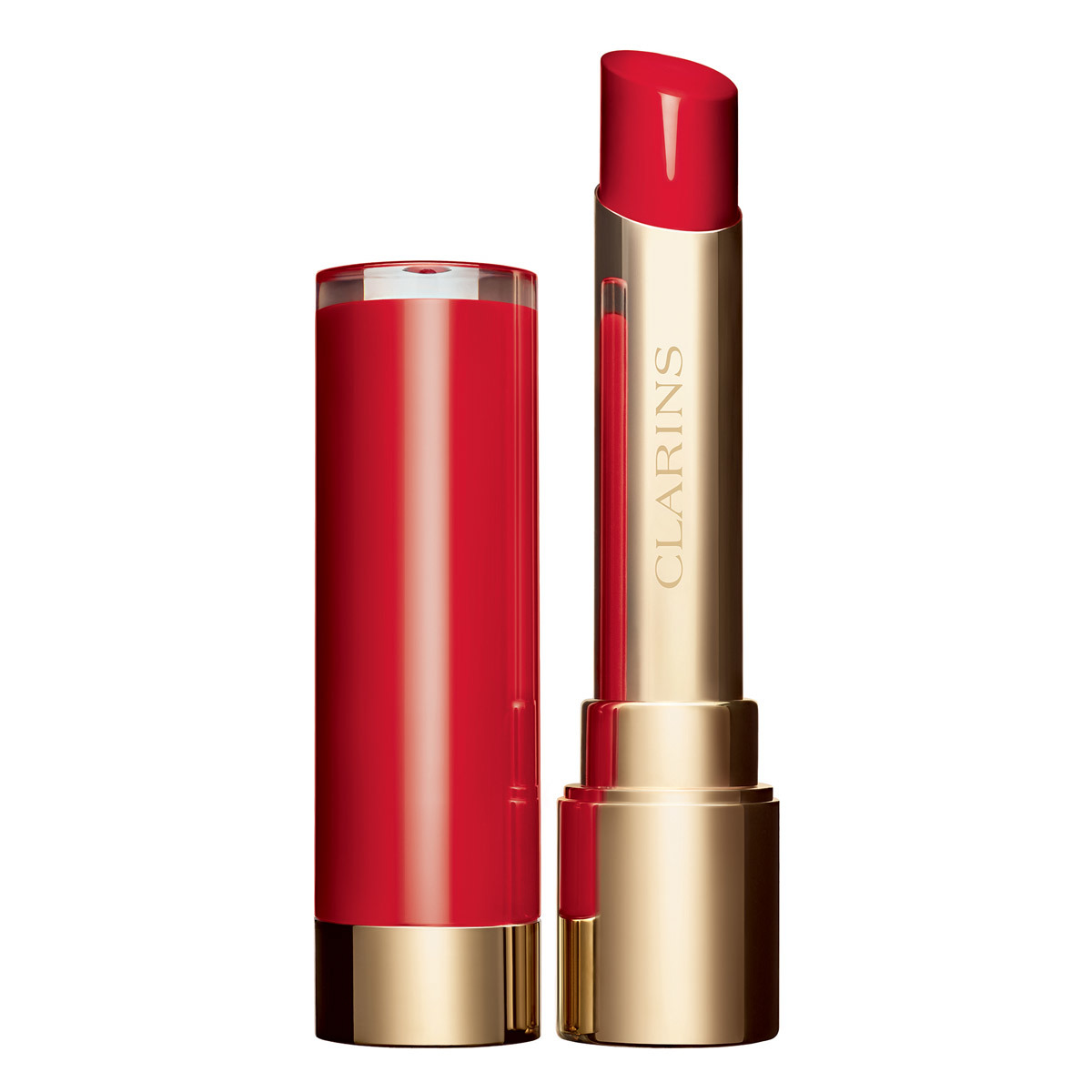 Joli Rouge Lacquer, Clarins.